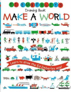 Ed Emberley's Drawing Book: Make a World (Paperback)