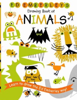 Ed Emberley's Drawing Book of Animals (Paperback)