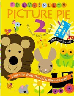 Ed Emberley's Picture Pie 2: A Drawing Book and Stencil (Paperback)