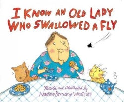 I Know an Old Lady Who Swallowed a Fly (Board book)