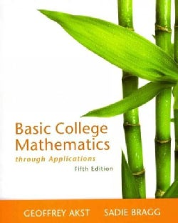 Basic College Mathematics Through Applications (Paperback)