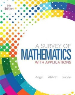 A Survey of Mathematics With Applications (Hardcover)