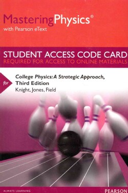 College Physics: a Strategic Approach Masteringphysics Access Code: Includes Pearson Etext (Other merchandise)