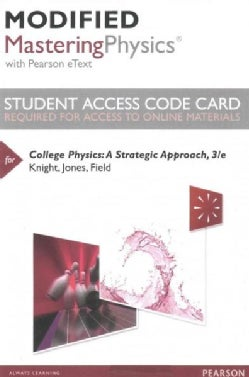 College Physics Modified Masteringphysics With Pearson Etext Access Code: A Strategic Approach (Other merchandise)