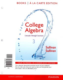 College Algebra + MyMathLab Access Code: Concepts Through Functions