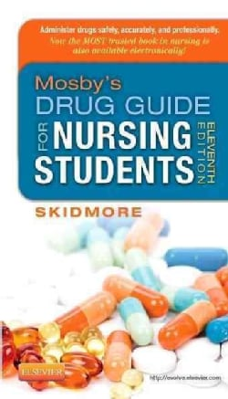 Mosby's Drug Guide for Nursing Students (Paperback)