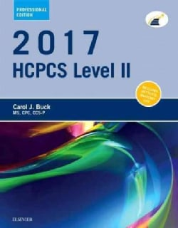 HCPCS Level II 2017 (Paperback)