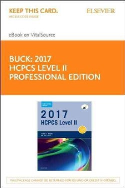HCPCS Level II 2017 - Elsevier Ebook on Vitalsource Retail Access Card: Elsevier Ebook on Vitalsource (Other merchandise)