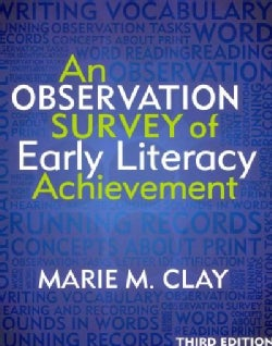 An Observation Survey of Early Literacy Achievement (Paperback)
