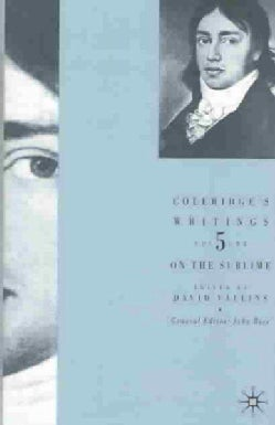 Coleridge's Writings: On the Sublime (Hardcover)