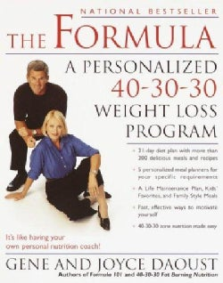 The Formula: A Personalized 40-30-30 Weight Loss Program (Paperback)