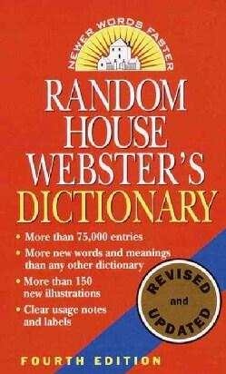 Random House Webster's Dictionary (Paperback)