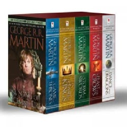 A Song of Ice and Fire: A Game of Thrones, a Clash of Kings, a Storm of Swords, a Feast for Crows, and a Dance Wi... (Paperback)
