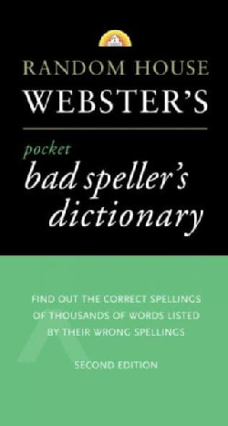 Random House Webster's Pocket Bad Speller's Dictionary (Paperback)