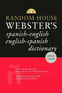 Random House Webster's Dictionary: Spanish-english English-spanish (Paperback)