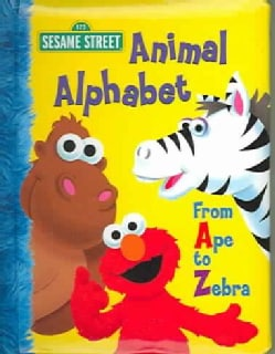 Animal Alphabet: From Ape To Zebra (Board book)