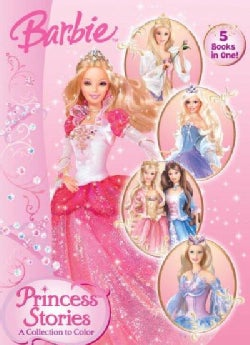 Princess Stories: A Collection to Color (Paperback)