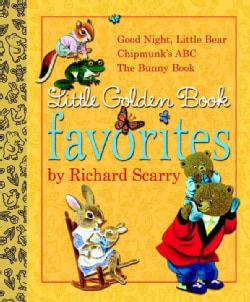 Little Golden Book Favorites by Richard Scarry (Hardcover)