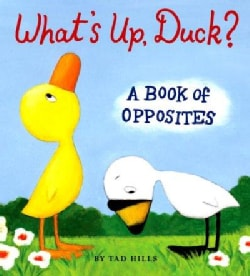 What's Up Duck?: A Book of Opposites (Board book)