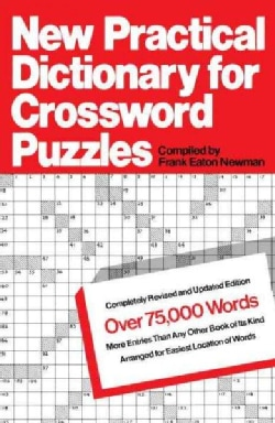 New Practical Dictionary for Crossword Puzzles: More Than 75,000 Answers to Definitions (Paperback)