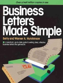 Business Letters Made Simple (Paperback)