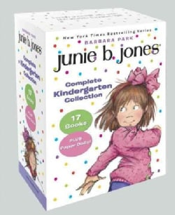 Junie B. Jones Complete Kindergarten Collection: Books 1-17 With Paper Dolls in Boxed Set (Paperback)