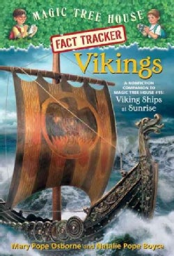 Vikings: A Nonfiction Companion to Magic Tree House #15: Viking Ships at Sunrise (Paperback)