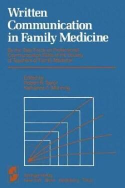 Written Communication in Family Medicine (Paperback)