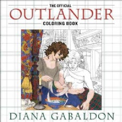 The Official Outlander Adult Coloring Book (Paperback)