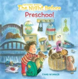 The Night Before Preschool (Board book)