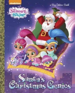 Santa's Christmas Genies (Hardcover)