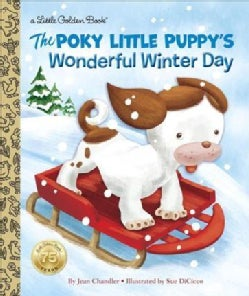 The Poky Little Puppy's Wonderful Winter Day (Hardcover)