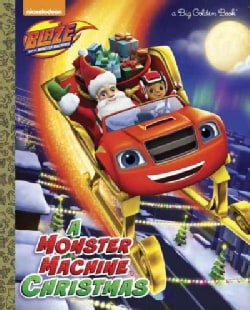 A Monster Machine Christmas (Hardcover)