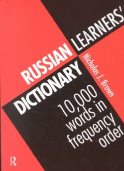 Russian Learner's Dictionary: 10,000 Words in Frequency Order (Paperback)