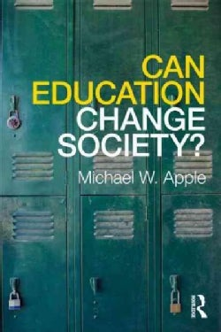Can Education Change Society? (Paperback)