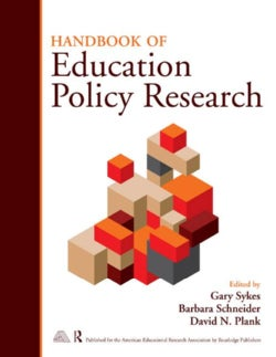 Handbook on Education Policy Research (Paperback)