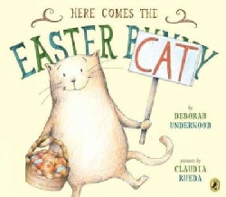 Here Comes the Easter Cat (Paperback)