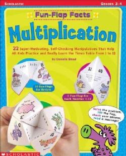 Fun-Flap Facts: Multiplication (Paperback)
