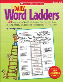 Daily Word Ladders Grades 4-6 (Paperback)
