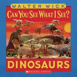 Can You See What I See? Dinosaurs (Board book)