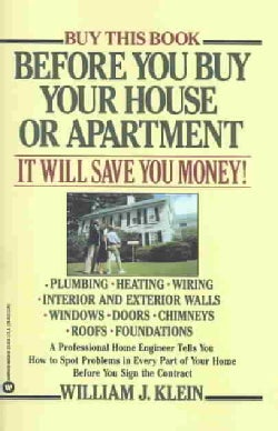 Before You Buy Your House or Apartment (Paperback)