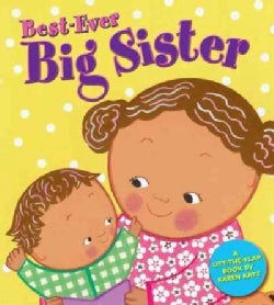 Best-ever Big Sister (Board book)