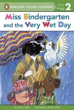 Miss Bindergarten and the Very Wet Day (Paperback)