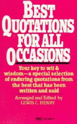 Best Quotations for All Occasions (Paperback)