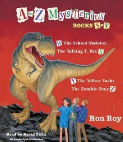 A to Z Mysteries Book S-v (CD-Audio)