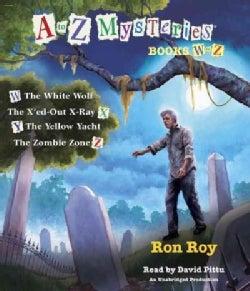 A to Z Mysteries Books W-z (CD-Audio)