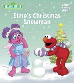 Elmo's Christmas Snowman (Board book)