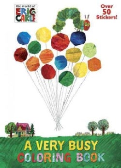 A Very Busy Coloring Book (Paperback)