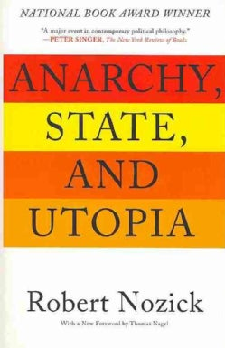 Anarchy, State, And Utopia (Paperback)