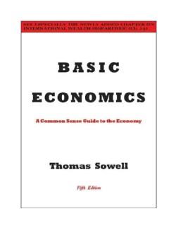 Basic Economics: A Common Sense Guide to the Economy (Hardcover)